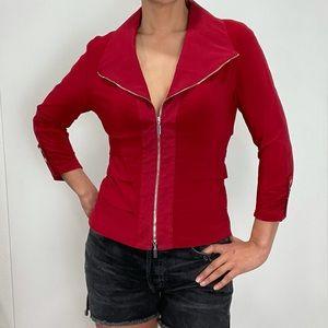 Joseph Ribkoff Zipper Top Jacket Size 4